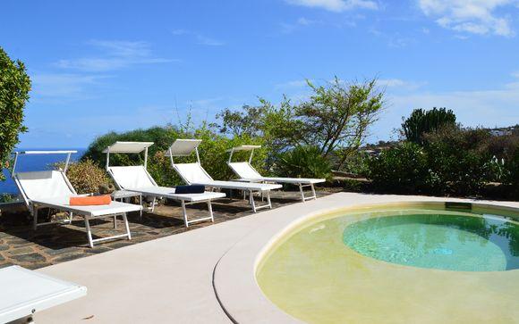 I dammusi panoramici con piscina