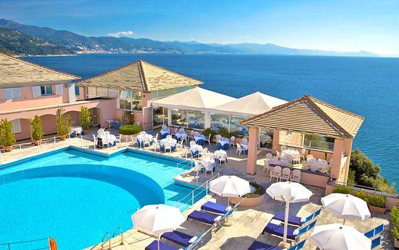 Relax 4* e vista panoramica a picco sul mare