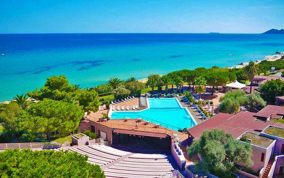 Club hotel 4* sulle spiagge dorate di Costa Rei