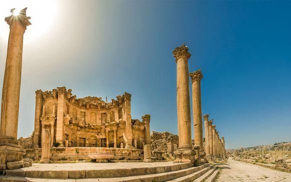 Itinerario della Giordania classica e Wadi Rum