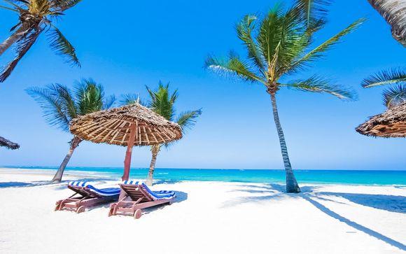 Jacaranda Indian Ocean Beach 4* + Safari