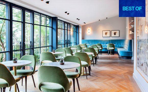 Boutique hotel 4* a Vondelpark in camere Luxury