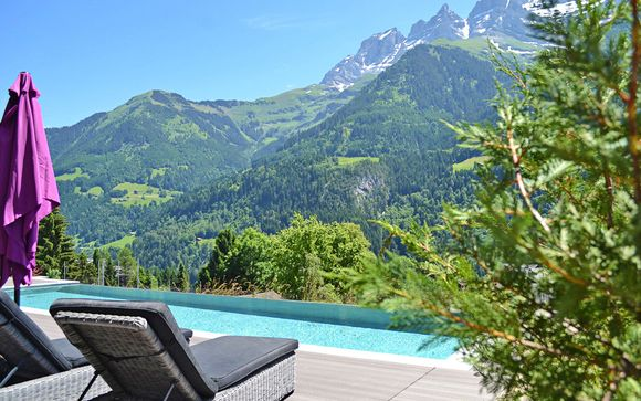 Benessere e natura in 4* a 30 chilometri da Montreux
