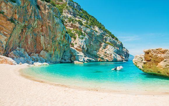 Sabbia bianca e acque turchesi a Cala Liberotto