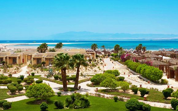 Splendido resort 5* sulla spiaggia di Soma Bay