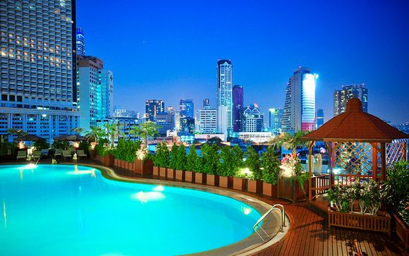 Bangkok - Center Point Hotel Silom 4 *