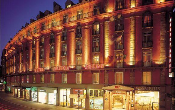 L'Hotel Maison Rouge 4*