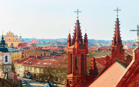 Alla scoperta di Vilnius