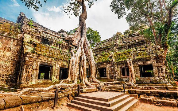 Offerta 2 - Itinerario di 10 notti - Estensione in Cambogia (Siem Reap)