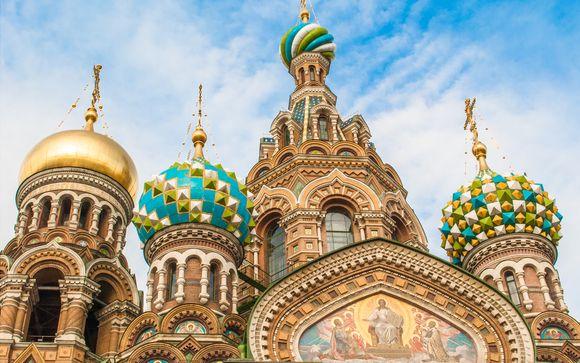 Itinerario con 17 notti da San Pietroburgo a Pechino
