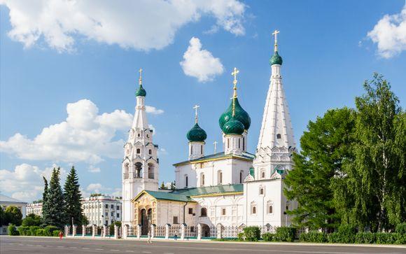 San Pietroburgo/Mosca: 7 notti a bordo del MS Rostropovich 4 *
