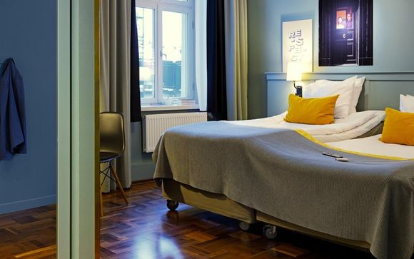 Lo Scandic Grand Central Stockholm 4 *