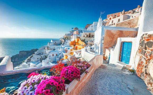 Itinerario 8 Notti - Santorini e Mykonos