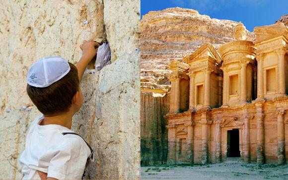 Tour tra Gerusalemme e Petra