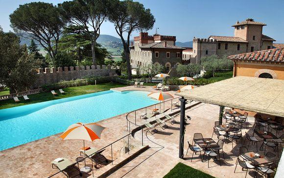Esclusivo Resort 5* di charme con spa tra i colli umbri