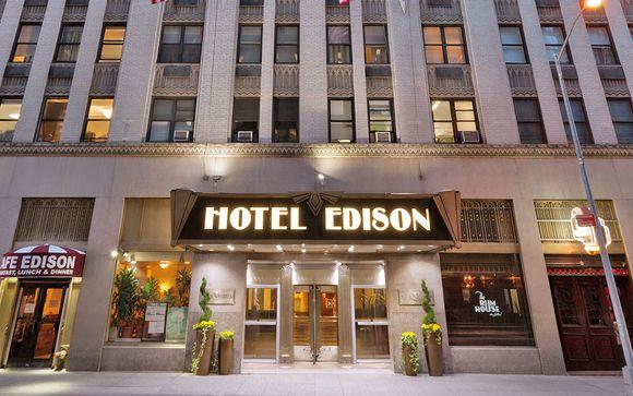 Sistemazione a New York - Hotel Edison NYC o similare