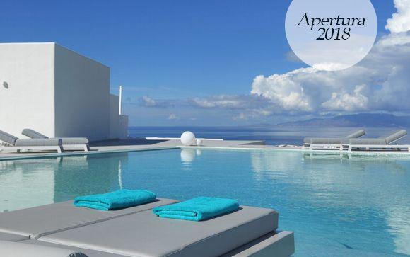 Vacanza da sogno in hotel con vista panoramica sul mare