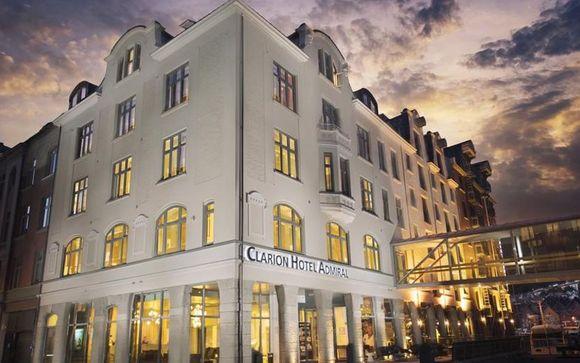 Bergen - Hotel Clarion Admiral 4*