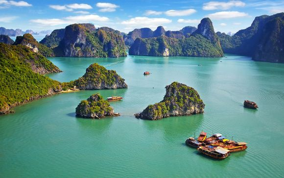 Sofitel Hanoi & Jonque Paradise Luxury Ha Long & Six Senses Ninh Van Bay