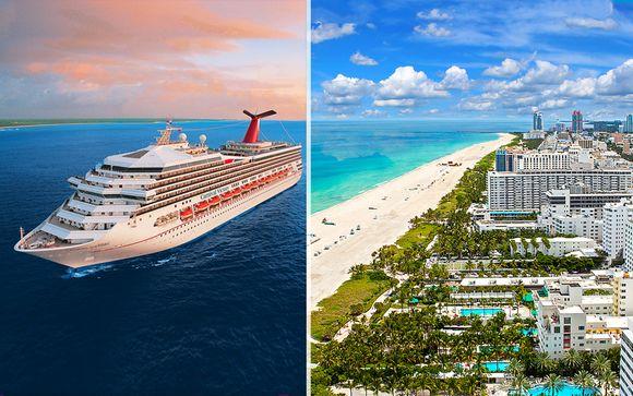 Combine Grand Beach Hotel Miami e Crociera Bahamas