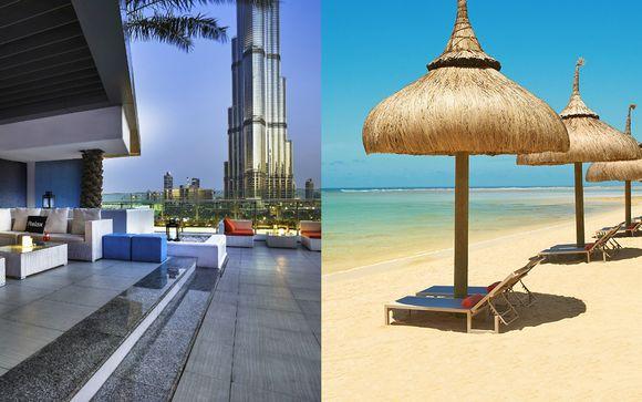 Sofitel Downtown Dubai 5* + So Sofitel Mauritius 5*