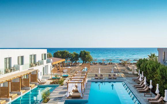 Tranquillità e relax in resort fronte mare con spiaggia