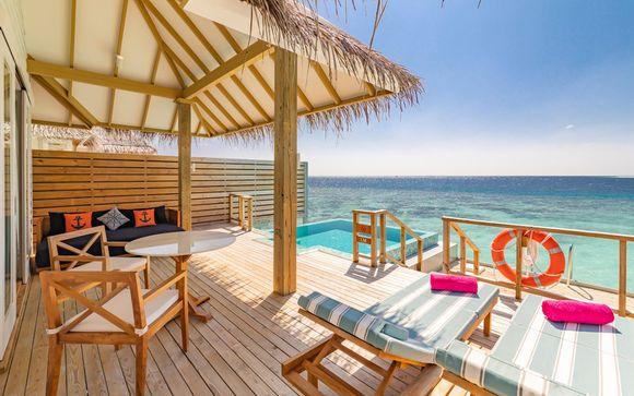 Sun Aqua Iru Veli 5* con possibile soggiorno a Dubai