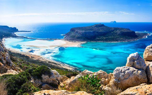 Autotour di Creta in hotel 4* o 5*