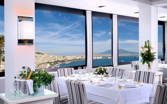Elegante 4* con vista da sogno sul Golfo di Napoli