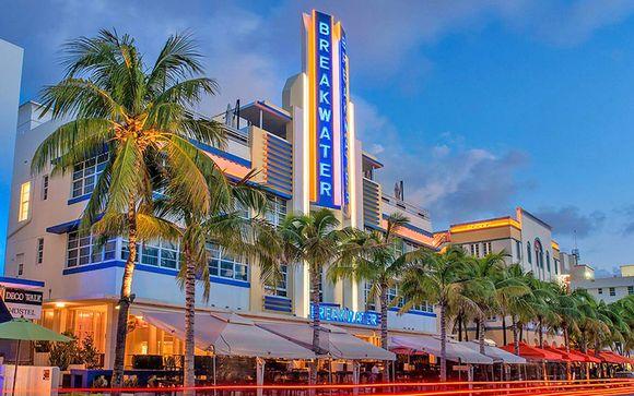 Sistemazione a Miami - Hotel Breakwater o similare