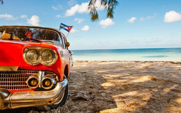 El ritmo de Cuba in casa particular e 4*S all inclusive in spiaggia