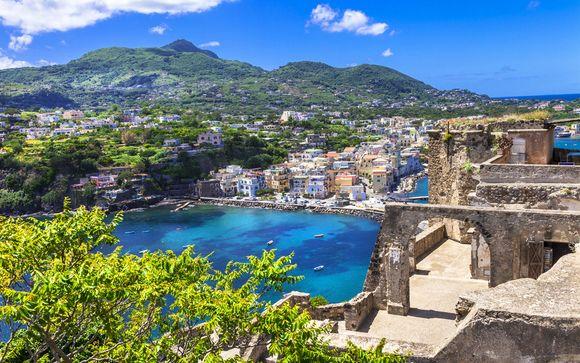Benessere e wellness con SPA in 4* a Ischia Porto