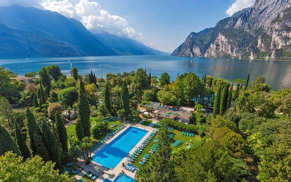 Esclusivo Resort 4* con spa sulle sponde del Lago di Garda
