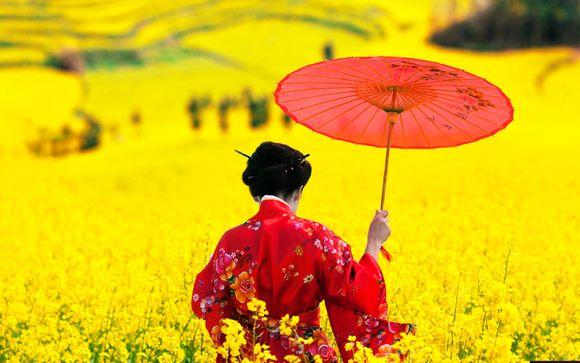 Tour del Giappone tra città e campagna
