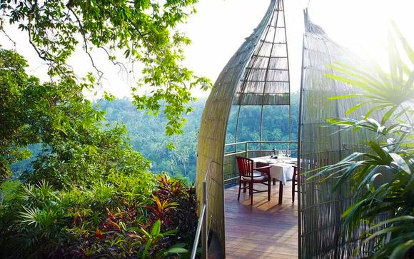 Jungle Retreat by Kupu Kupu Barong 5* + The Sintesa Jimbaran 5*