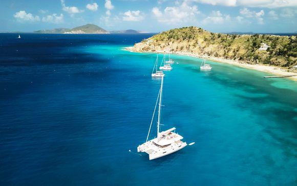 Sogno caraibico tra le isole più belle delle Antille