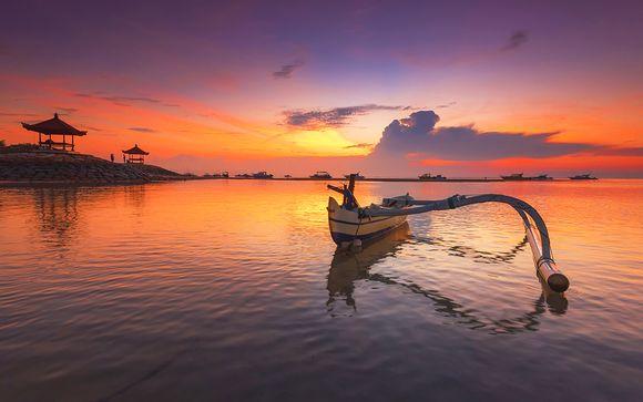 Splendide spiagge nell'idillio paesaggistico di Bali
