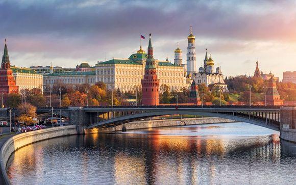 Mosca/ San Pietroburgo: 11 notti a bordo della MS Chernishevsky 4 * o MS Mustai Karim 5 *
