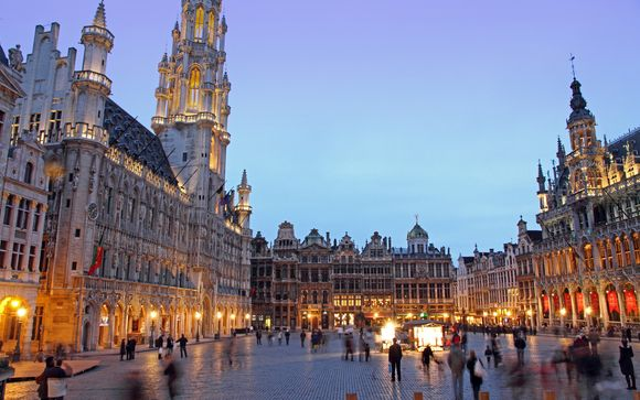 Dukes' Palace 5* e  Hotel Le Plaza Brussels 5*