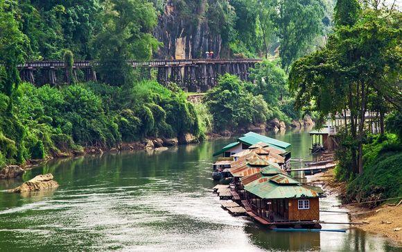 Column Hotel Bangkok 4* + River Kwai Resotel Kanchanaburi + The Elements Krabi 4*