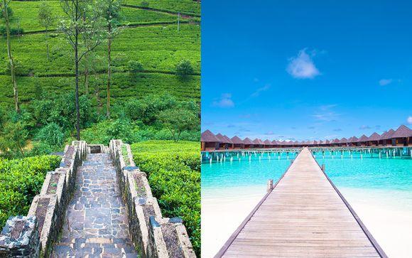 Il fascino esotico dello Sri Lanka e il relax delle Maldive
