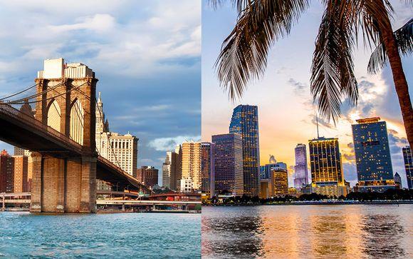 Eden Roc Miami Beach Hotel 4*S e AC Hotel by Marriott New York Times Square 4*