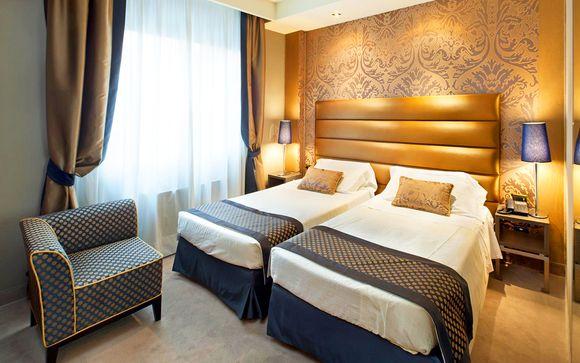 Il soggiorno: Hotel Mozart 4*