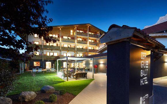 Hotel nel centro di Ehrwald in posizione panoramica