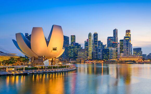 Escursione facoltativa a Singapore