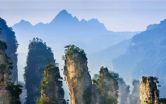 Tour della Cina e delle montagne di Avatar