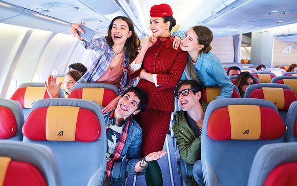 In collaborazione con Alitalia
