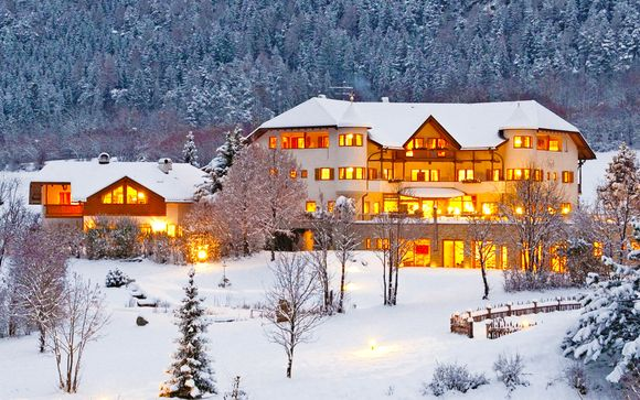 Chienes, Vital Hotel con Spa e cucina biologica