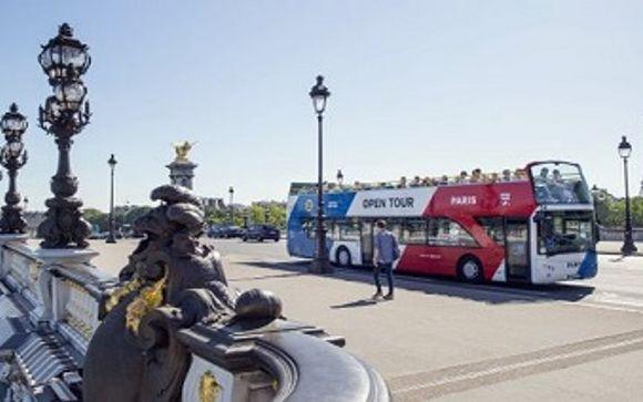 Uw inbegrepen excursie indien u kiest voor de Open Bus Tour aanbieding