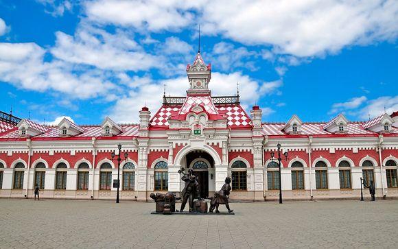 Uw reisprogramma van Moskou naar Irkoetsk (10 nachten/11 dagen)